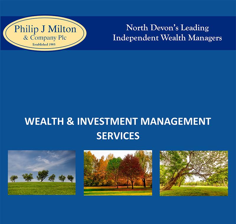 Wealth & Investment Management Services - Philip J Milton